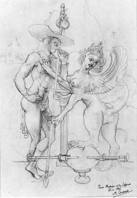 43 Etude pour le Oedipe et le Sphinx Acétyllène (2) min19433.jpg